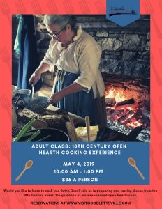 Adult Class: 18th Century Open Hearth Cooking