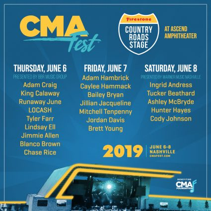 CMA Fest Firestone Country Road Stage