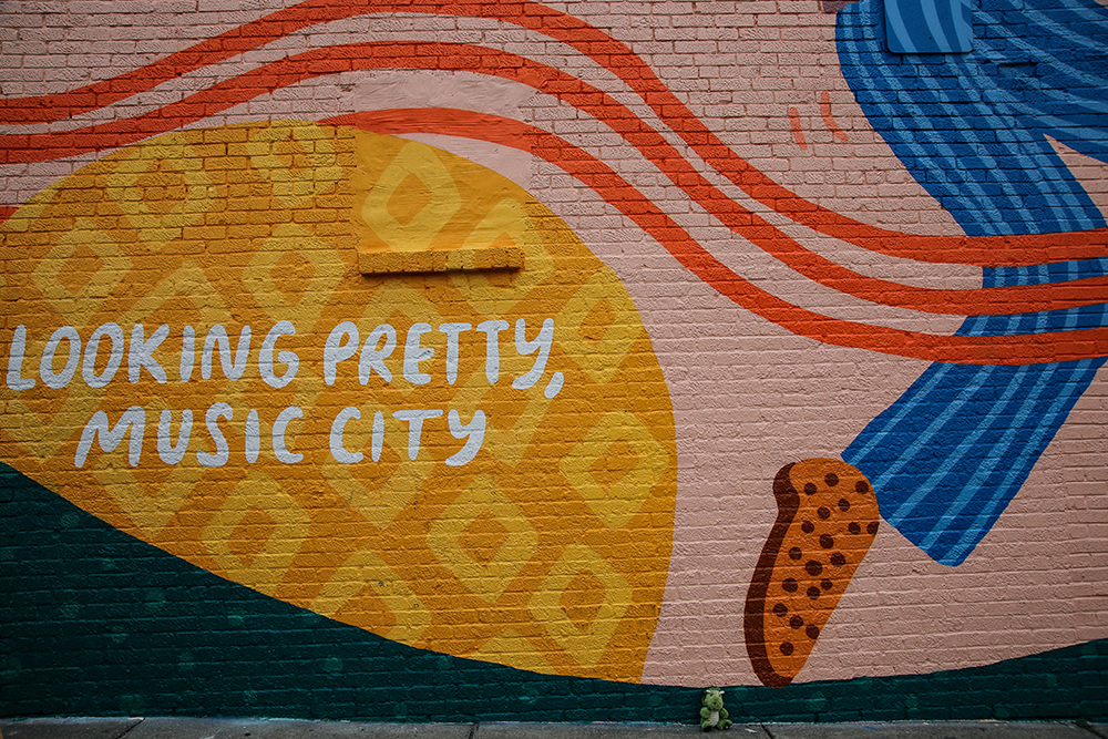 Looking Pretty, Music City Mural
