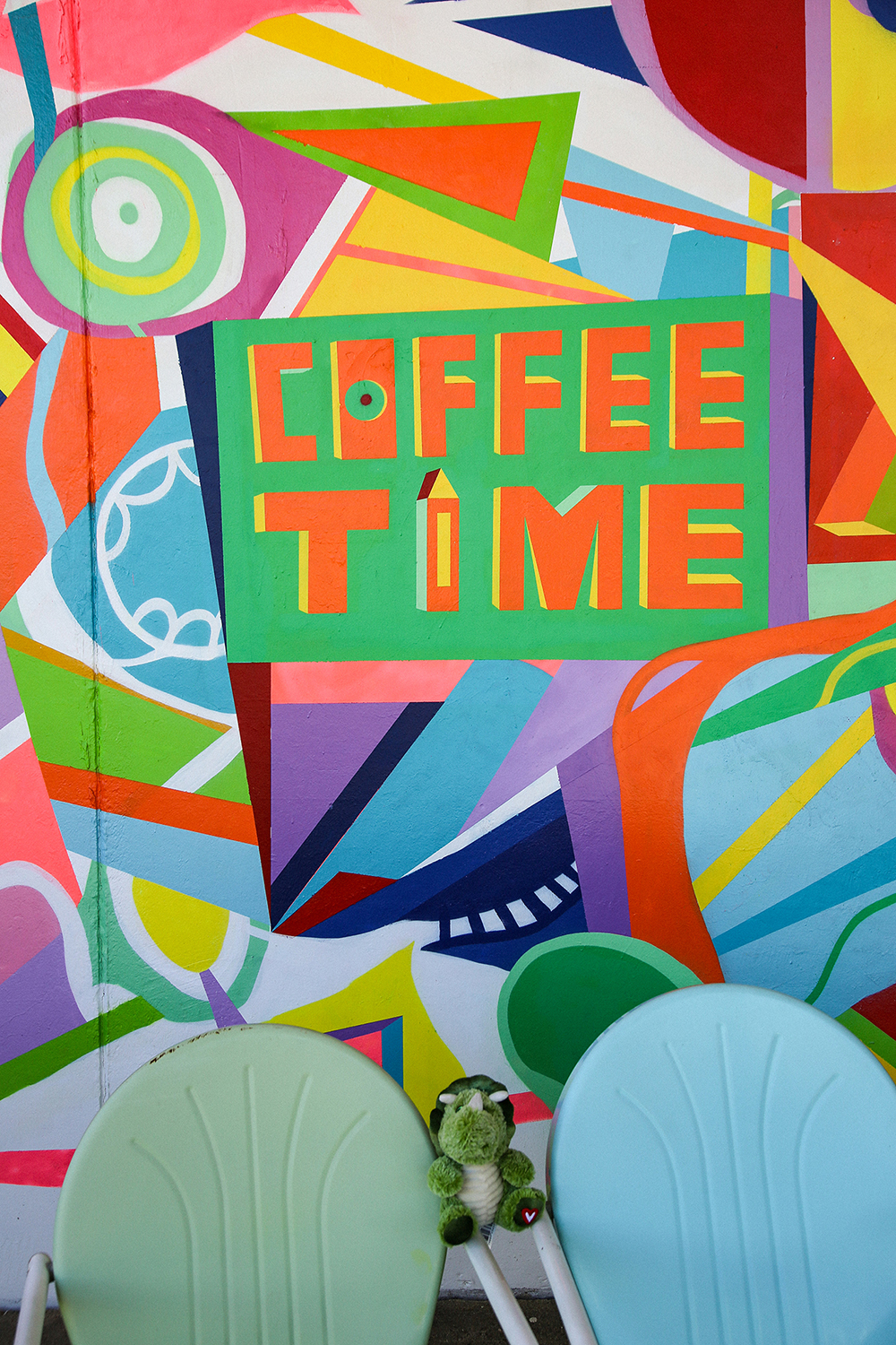 Coffee Time Mural
