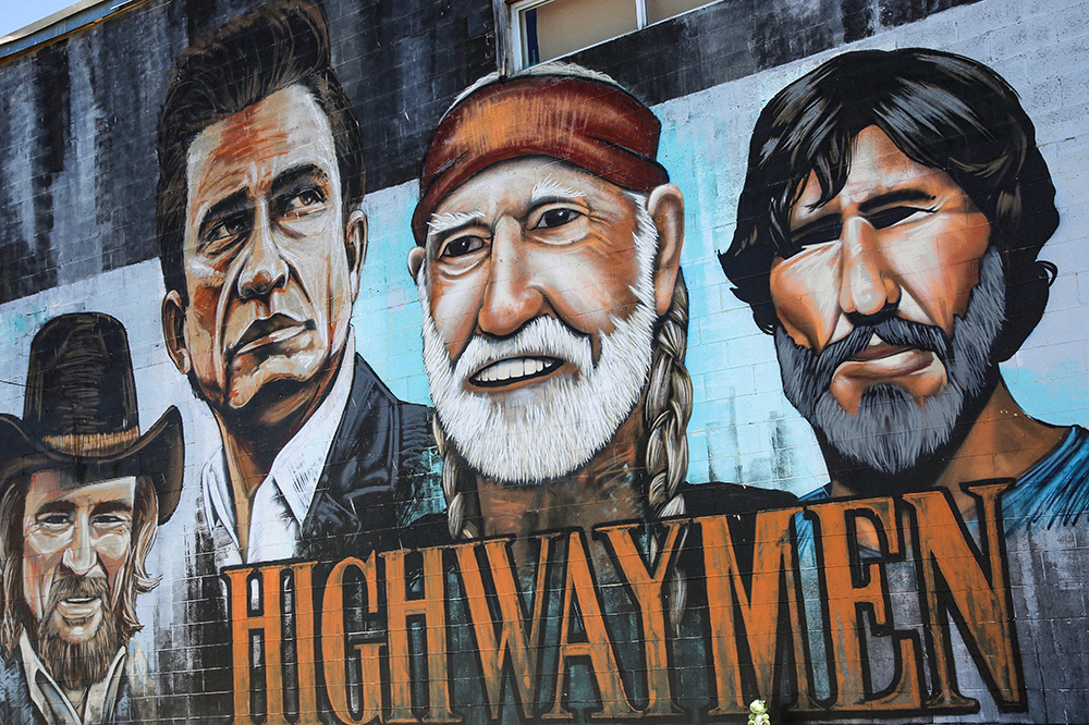 Country Music Icons Mural