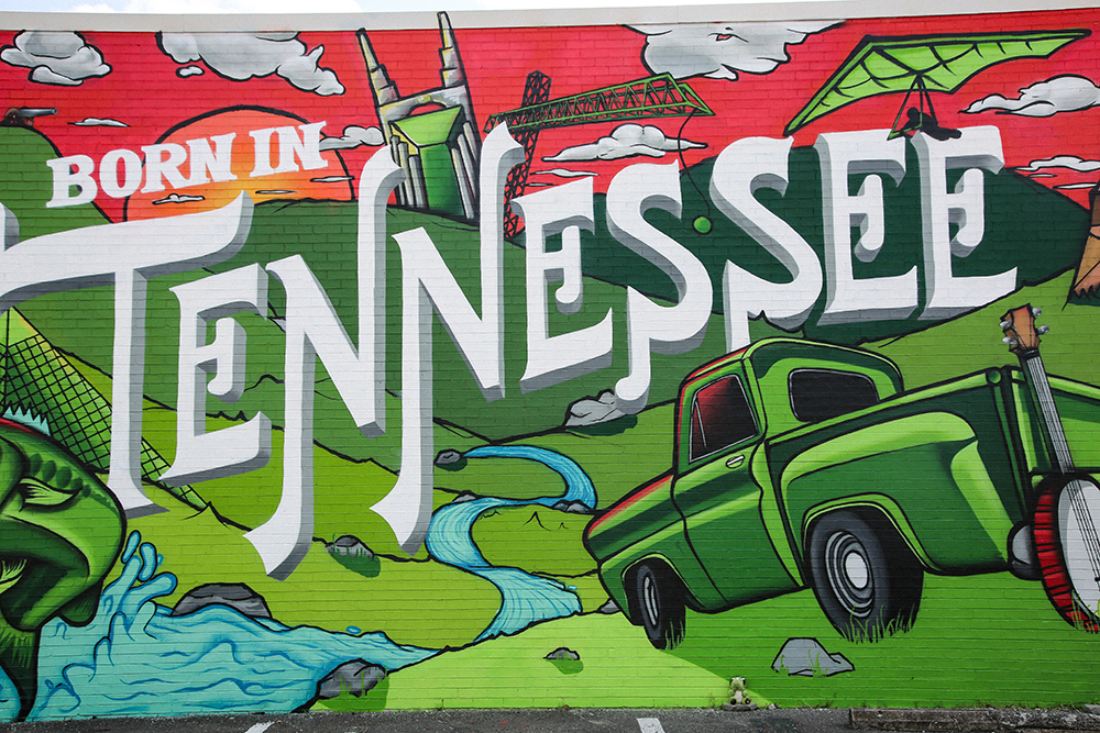 Born in Tennessee Mural