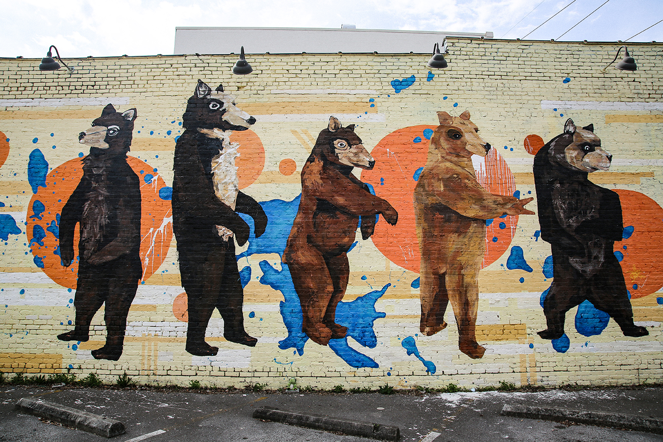 Bears Outing Mural