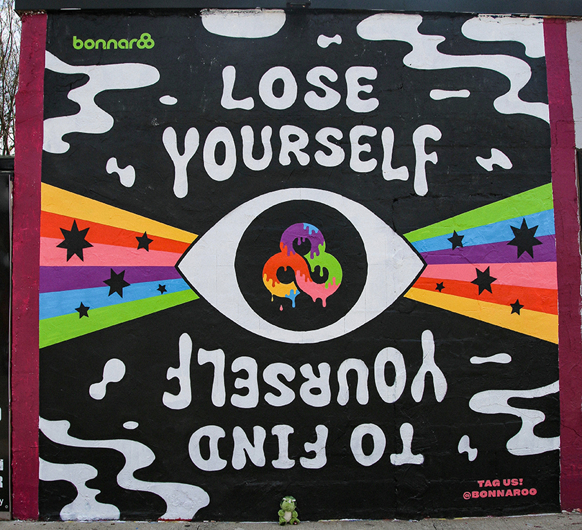 Lose Yourself Bonnaroo Mural
