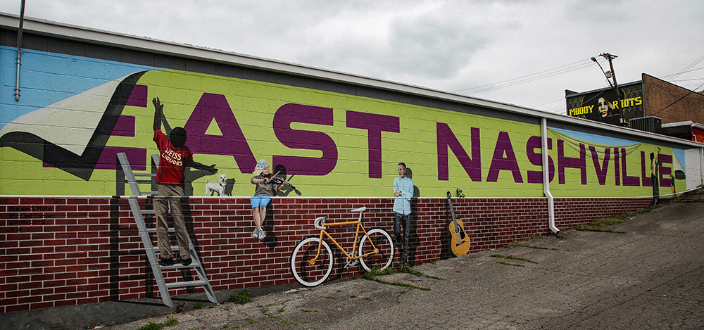 East Nashville Community Mural