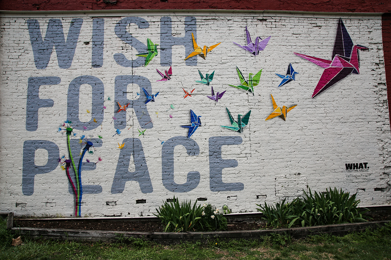 Wish for Peace Mural