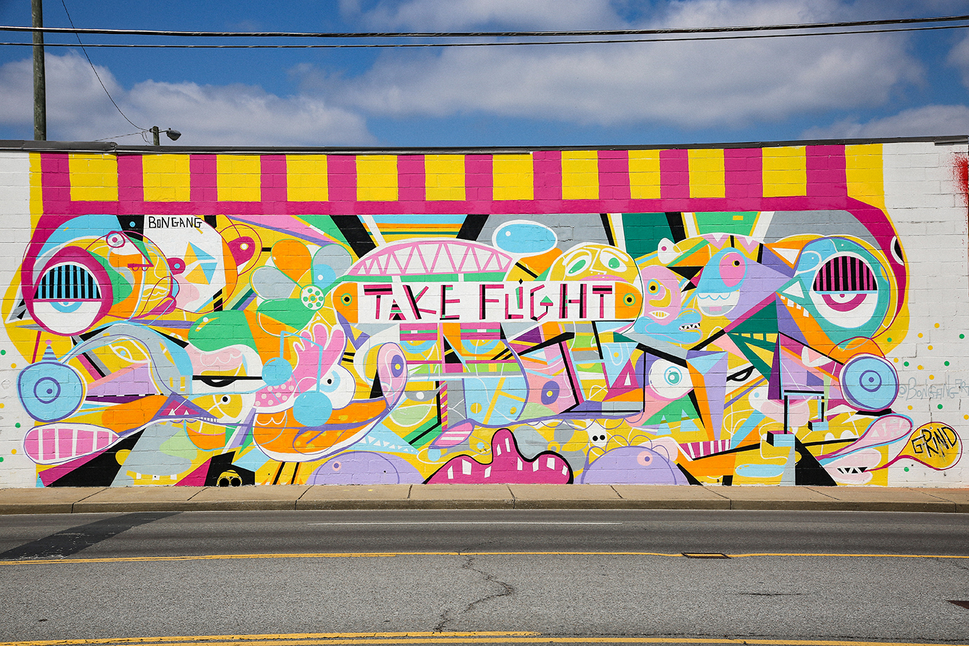 Take Flight Mural