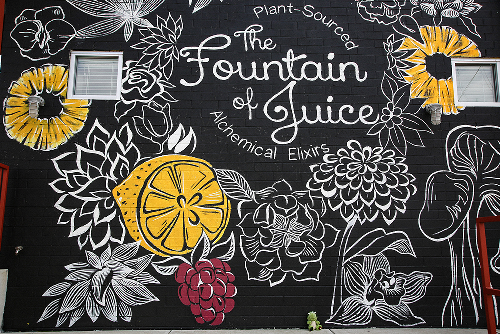 Fountain of Juice Mural