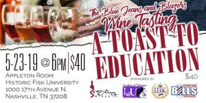 """The Blue Jeans and Blazers Wine Tasting - """"A Win..."""