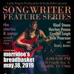 Songwriter Feature Series with Casey Weston