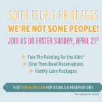 Easter at Kings Dining & Entertainment