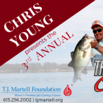 Chris Young Presents 3rd Annual Th3 Legends Cast for a Cure Tournament