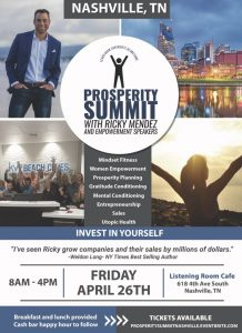 Prosperity Summit with Ricky Mendez and Empowermen...