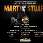16th Artist in Residence Marty Stuart: Songs That Tell a Story