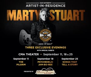 16th Artist in Residence Marty Stuart: The Pilgrim