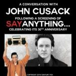 A Conversation with John Cusack with Screening of Say Anything
