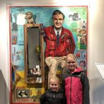 Mister Rogers Comes to Nashville - A new mixed media portrait