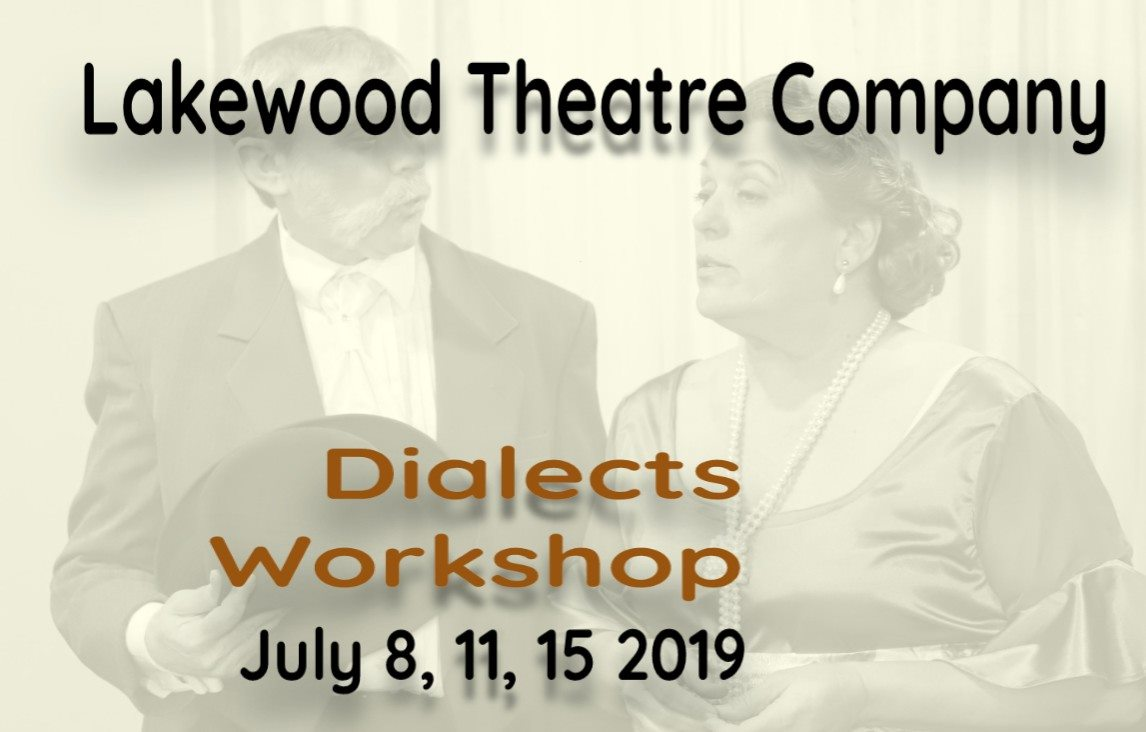 2019 Dialects Workshop