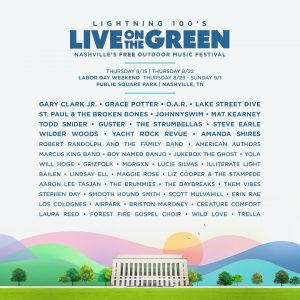 Live On the Green 2019 Lineup