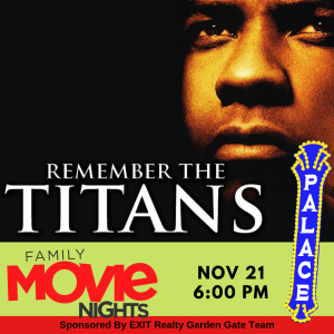Remember the Titans - Family Movie Night