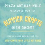 Plaza Art Crafts on the Concrete