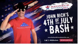 John Rich's Redneck Riviera Presents Fourth of July Bash