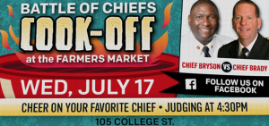 Chief Cook-Off at the White House Farmers Market