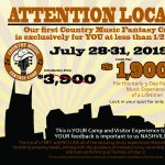 Local's Country Music Fantasy Camp