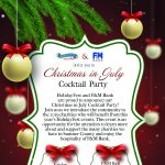 Christmas in July Cocktail Party