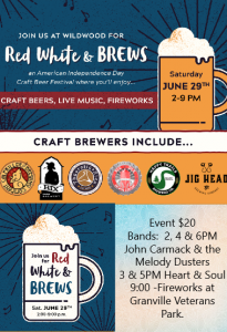 Red, White & Brews an American Independence Da...