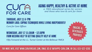 Aging Happy, Healthy & Active at Home