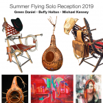 Flying Solo Exhibition Series Summer 2019 Opening Reception
