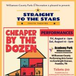 WCPR's Straight To The Stars Presents: Cheaper By the Dozen