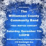 Williamson County Community Band Winter Concert