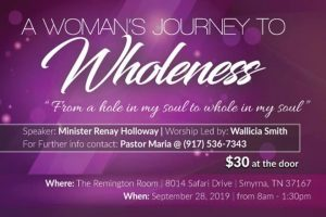 A Woman's Journey to Wholeness