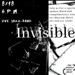Invisible - An Evening of Spoken Word