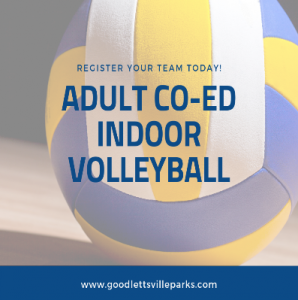 Goodlettsville Adult Coed Indoor Volleyball Fall 2...