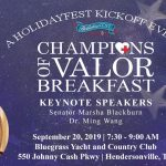 HolidayFest's Champions of Valor Breakfast