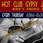 Hot Club Gypsy Jazz Thursdays - Rudy's French Connection