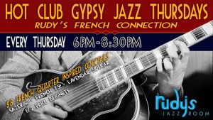 Hot Club Gypsy Jazz Thursdays - Rudy's French Conn...