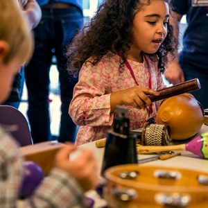 Family Program: Musical Instrument Petting Zoo