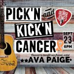 Pick'n and Kick'n Cancer Benefit Concert for Artist Ava Paige
