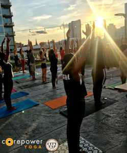 CorePower Yoga at the Rooftop
