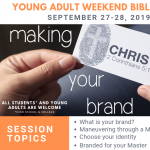 Young Adult Weekend Bible Study - Making Christ Your Brand