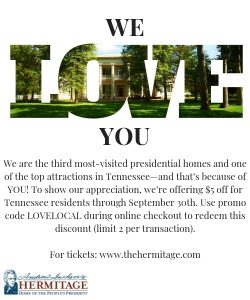 The Hermitage Loves Locals