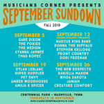 September Sundown feat. Amilia K. Spicer, Amber Woodhouse, Pet Envy, Super Doppler, Dylan LeBlanc