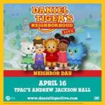 (POSTPONED) Daniel Tiger's Neighborhood Live: Neighbor Day