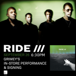 Ride Live at Grimey's