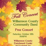 Williamson County Community Band Fall Concert