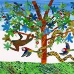 Studio Workshop: Eric Carle Inspired Collage presented by Turnip Green Creative Reuse